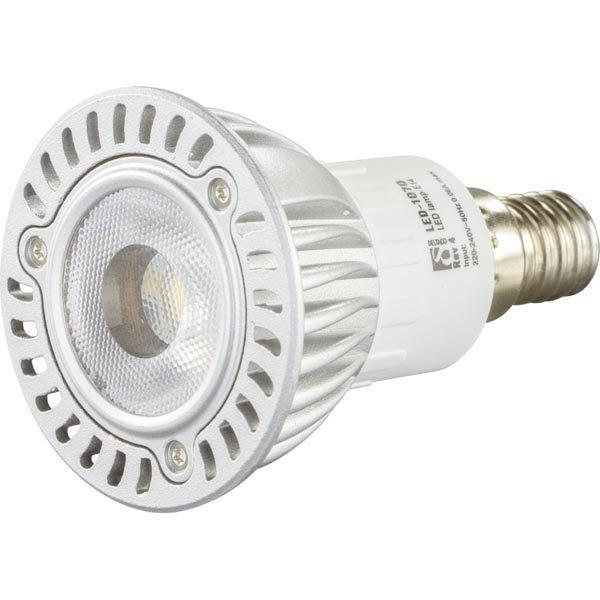 DELTACO LED-lamppu 5W 260lm E14 spotti 240V 2600-2800K
