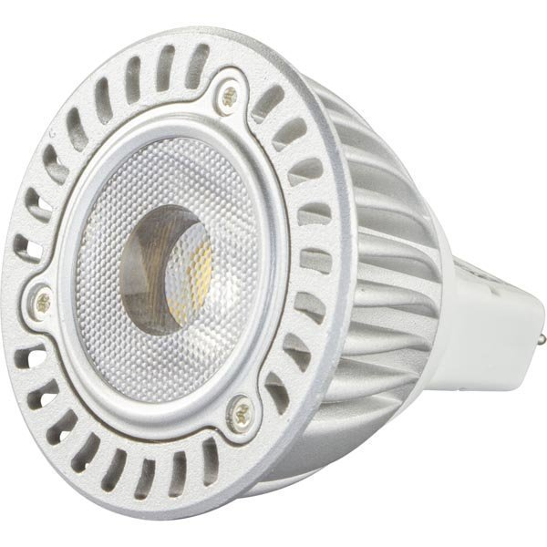 DELTACO LED-lamppu 5W 260lm GU5.3 spotti 12V 2600-2800K
