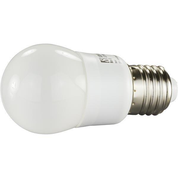 DELTACO LED-lamppu E27 lämpimänvalkoinen valo 1 5W pallo