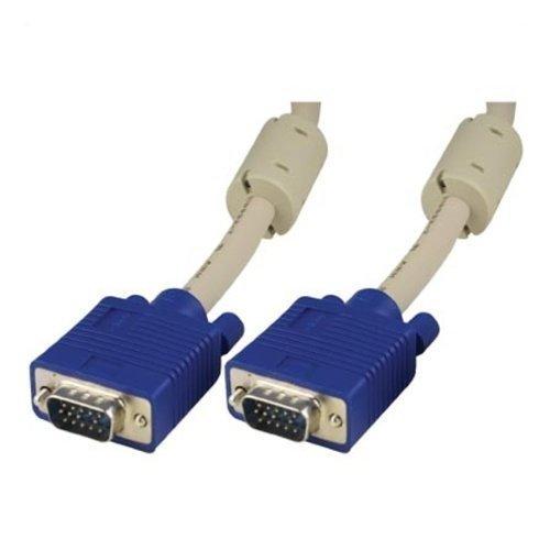 DELTACO VGA Cable3.0 Meter Bildskärmskabel-HD-15 (hane)-HD-15 (hane)