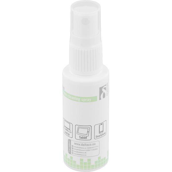 DELTACO näytön puhdistusaine 30 ml