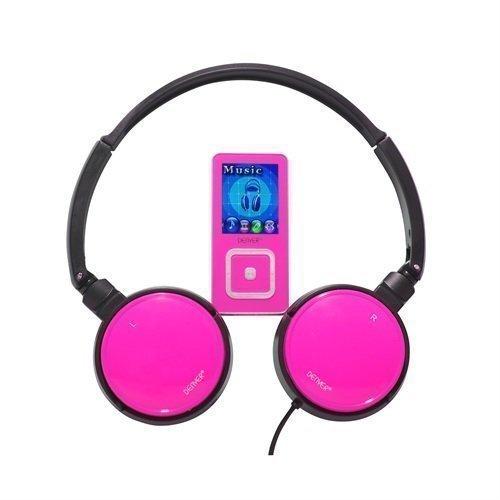 DENVER MPG-2062 Pink Ear-pad 2GB