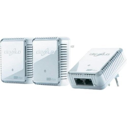DEVOLO POWERLINE DLAN 500MBITS AV DUO NETWORK KIT 3-PACK