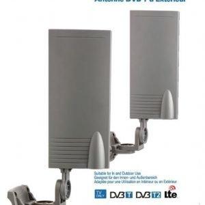 DVB-T-antenni sisä- ja ulkokäyttöön 15 dB