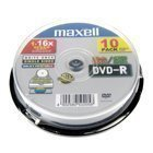 DVD - REC PRINT WHITE 16X 10* SPINDLE