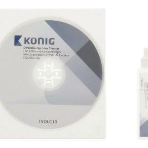 DVD/Blu-ray-aseman lukupään puhdistaja puhdistusneste 20 ml