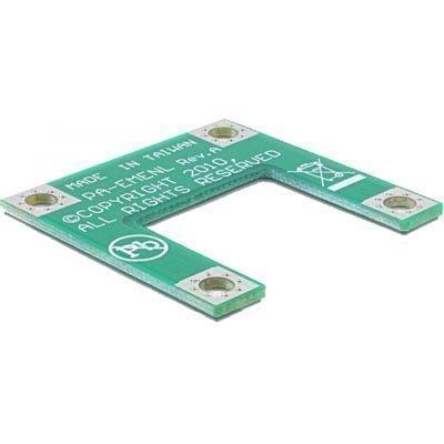 DeLOCK Mini PCI-Express sovitin tekee puolikokoisen täysikokoiseksi