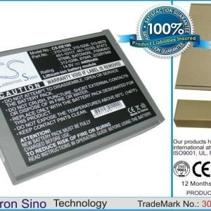 Dell Inspiron 1100 Inspiron 1150 Inspiron 5100 Series Inspiron 5150 Inspiron 5160 akku 4400 mAh