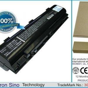 Dell Inspiron 1300 Inspiron B120 Inspiron B130 akku 6600 mAh