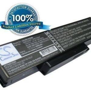 Dell Inspiron 1425 D1425 1427 akku 4400 mAh - Musta