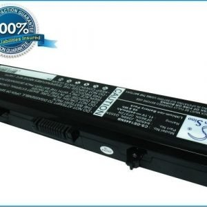 Dell Inspiron 1440 Inspiron 1750 akku 4400 mAh - Musta