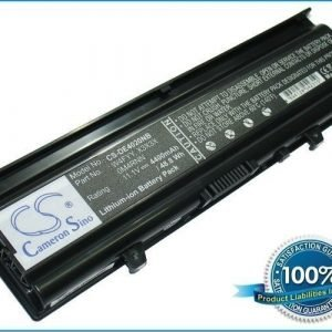 Dell Inspiron 14V M4010 M4010-346 N4020 N4030 N4030D M4050 akku 4400 mAh - Musta