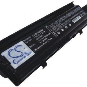 Dell Inspiron 14V M4010 M4010-346 N4020 N4030 N4030D M4050 akku 6600 mAh - Musta