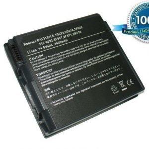 Dell Inspiron 2600 Inspiron 2650 Smart PC100N Winbook N4 akku 4400 mAh - Tumman harmaa