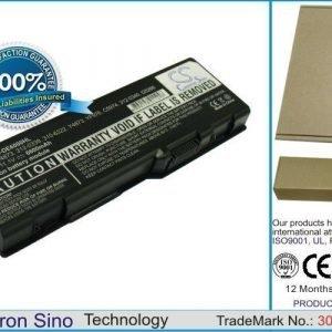 Dell Inspiron 6000 Inspiron 9200 Inspiron 9300 Inspiron 9400 Inspiron E1705 Inspiron XPS Gen 2 Inspiron M1710 Inspiron M1505 M1705 Precision M90 akku 6600 mAh