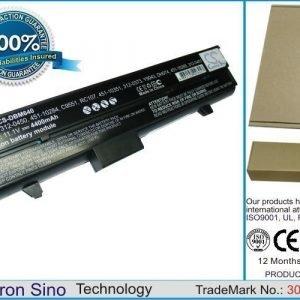 Dell Inspiron 630M Inspiron 640M Inspiron E1405 XPS M140 XPS PP19L akku 4400 mAh