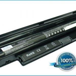 Dell Inspiron Mini 10 1012 Inspiron Mini 1012 Inspiron Mini 1018 akku 4400 mAh - Musta