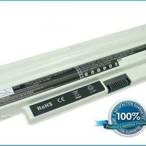Dell Inspiron Mini 10 1012 Inspiron Mini 1012 Inspiron Mini 1018 akku 4400 mAh - Valkoinen