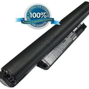 Dell Inspiron Mini 10 Inspiron Mini 1011 Inspiron Mini 10v PP19S Inspiron 11z 4400 mAh Musta