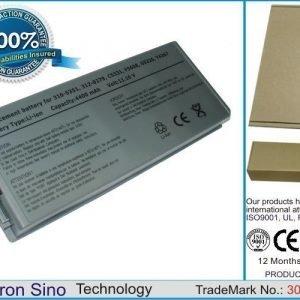 Dell Latitude D810 Precision M70 akku 4400 mAh