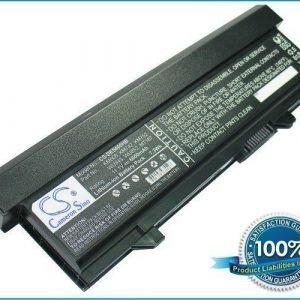 Dell Latitude E5400 Latitude E5500 akku 6600 mAh - Hopea Harmaa