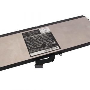 Dell XPS 15z L511Z akku 4400mAH / 64Wh mAh - Musta