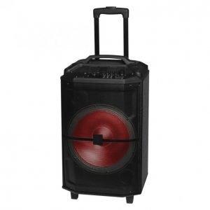 "Denver 12"" Bluetooth Kaiutin Disco Valolla Ja Fm Radiolla"