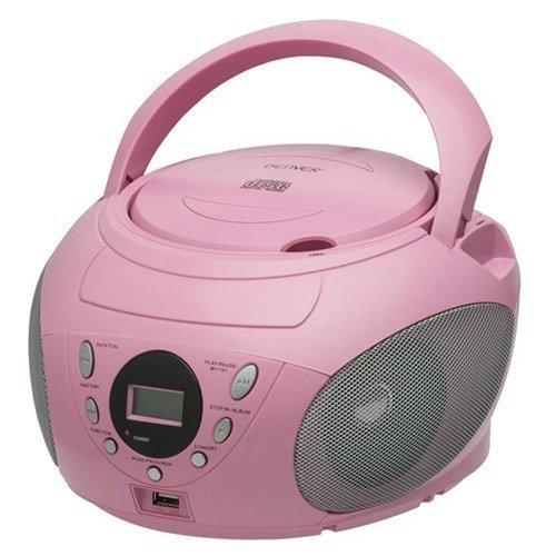 Denver Boombox Pink