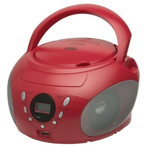 Denver Boombox Red