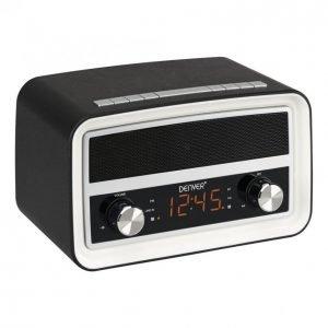 Denver Crb-619 Radio Kello Bluetooth Musta