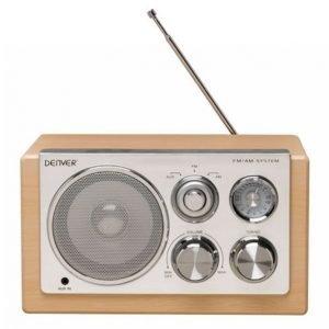 Denver Radio Vaalea Puunväri Tr-61