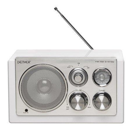 Denver Radio Valkoinen