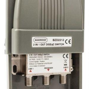DiSEqC-kytkin 2/1 100 W