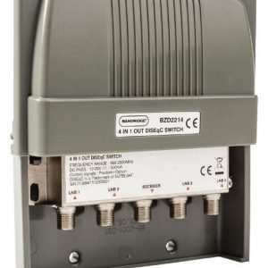 DiSEqC-kytkin 4/1 200 W