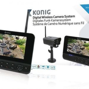 """Digitaalinen 2 4 GHz langaton kamerajärjestelmä 7 monitorilla"""""""