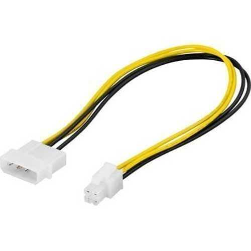 Diverse Adapter 4-pin till ATX12V (P4) 30cm