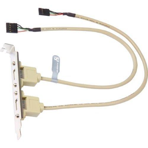 Diverse Bracket 2x5 polig USB kontakt för moderkort