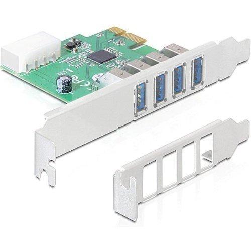 Diverse IO PCI-Express x1 USB 3.0 4st Typ A