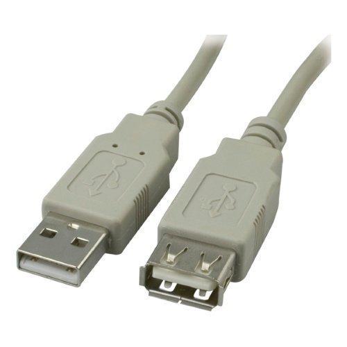 Diverse Kbl USB 2.0 förlängningskabel Typ A hane Typ A hona 5m