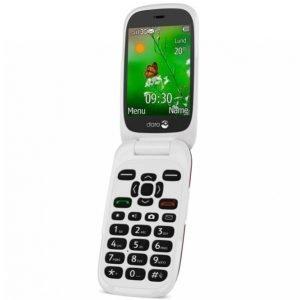 Doro 6531 3g-Puhelin Punainen / Valkoinen