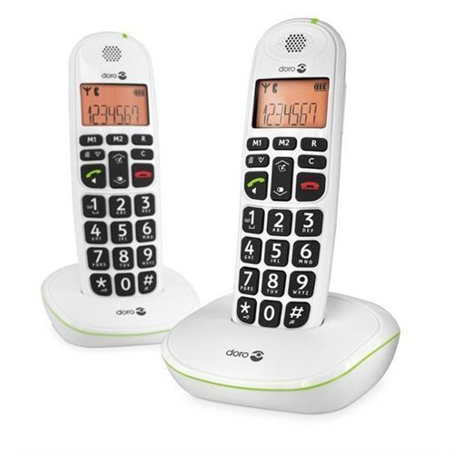 Doro PhoneEasy 100w White Double