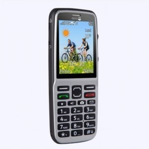 Doro Phoneeasy 530x Steel / Black