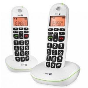Doro Phoneeasy Langaton Puhelin 100w Duo Valkoinen