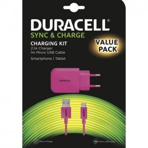 Duracell Microusb 2.1a Laturipaketti