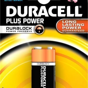 Duracell Plus Power 9 V Paristo