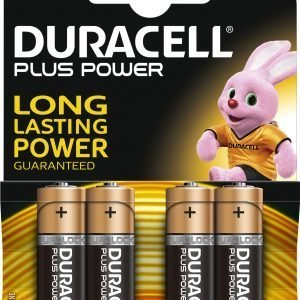 Duracell Plus Power Aa Paristo 4 Kpl / Pkt