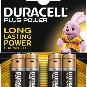 Duracell Plus Power Aa Paristo 4 Kpl / Pkt