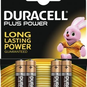 Duracell Plus Power Aaa Paristo 4 Kpl / Pkt