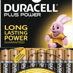 Duracell Plus Power Aaa Paristo 8 Kpl