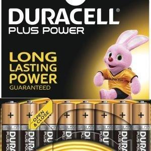 Duracell Plus Power Aaa Paristo 8 Kpl